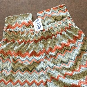 Cute jogger-style pants, large (junior)